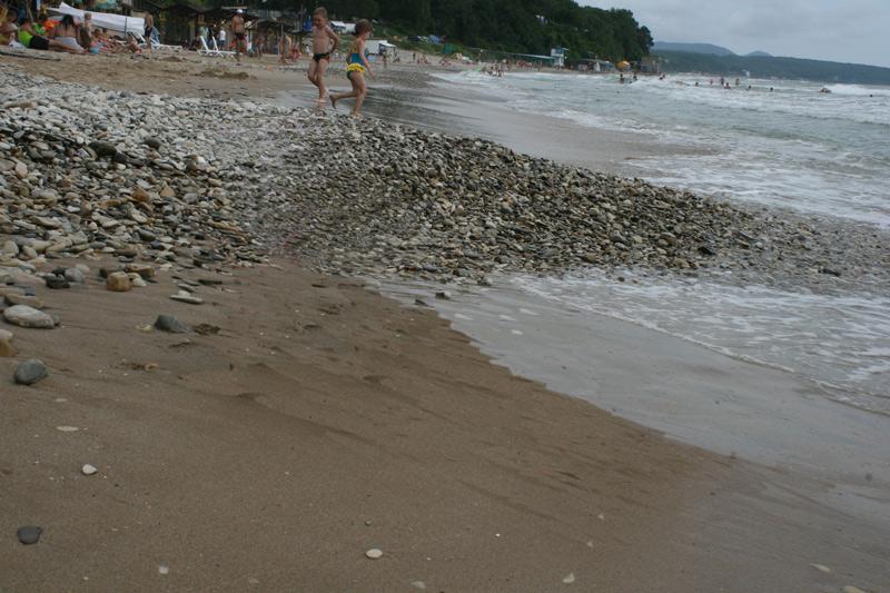 Пляж в Лермонтово