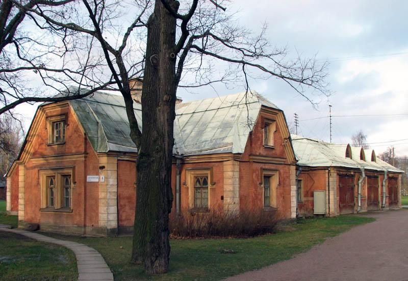 Петергоф Новая ферма