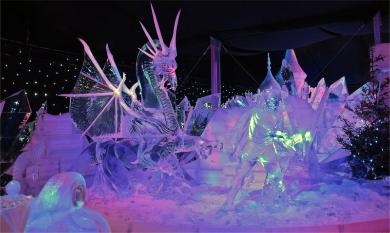 Фестиваль ледовых скульптур «ICE fantasy»