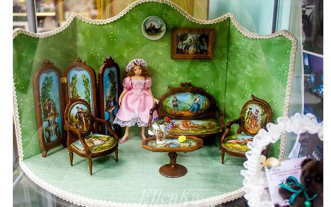 Экспонаты галереи кукол Ольги Павлычевой