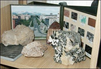 Экспонаты геологического музея Преображенской