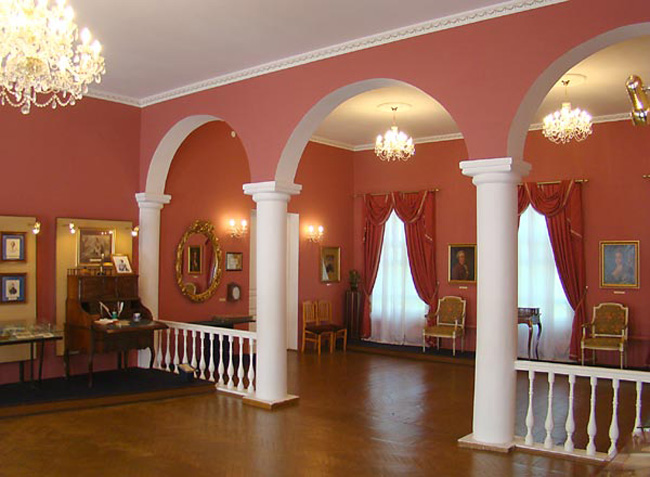 Музей Александра Сергеевича Пушкина изнутри