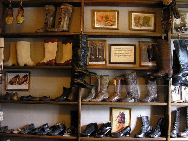 Музей валенок - экспонаты