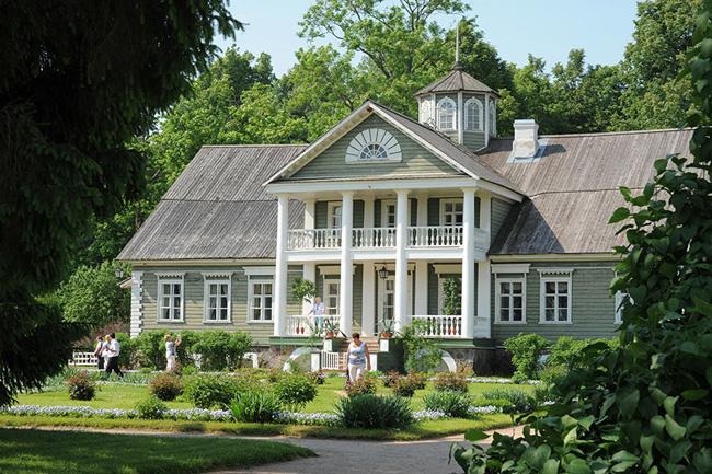 Дом, где жил Пушкин