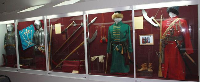 Экспонаты музея Воронина