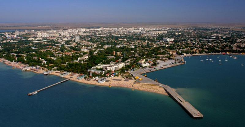 Евпатория - песчаный пляж