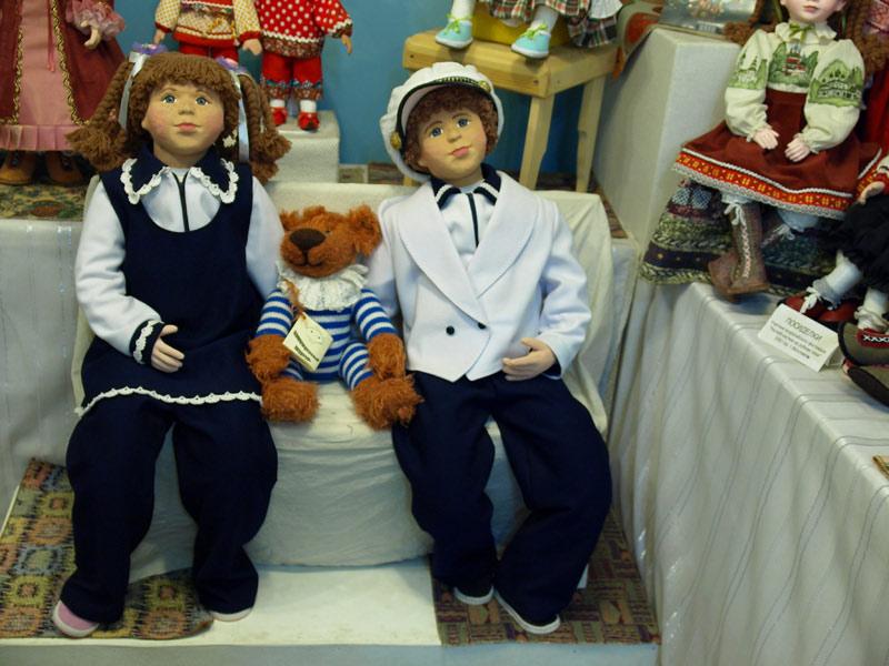 Музей кукол Ольги Павлычевой - экспонаты
