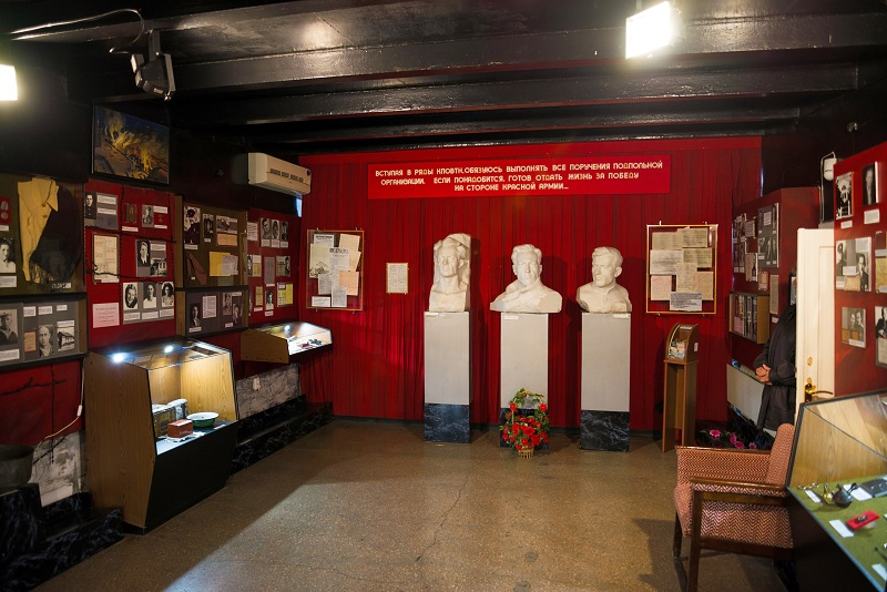 Дом-музей севастопольских подпольщиков внутри