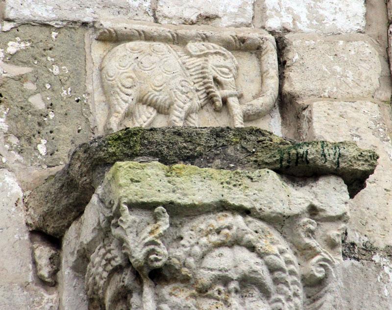 Георгиевский собор слоник