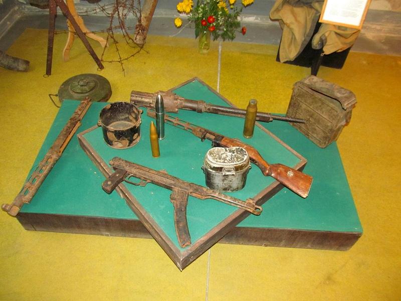Музей военно-оборонительного зодчества внутри