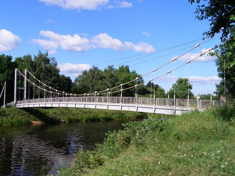 Остров Дятлинка мост