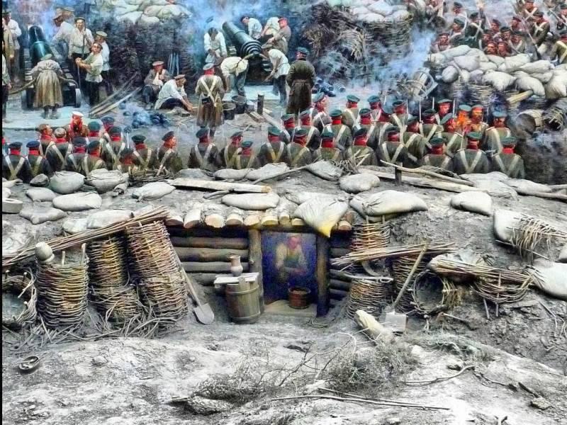 Панорама «Оборона Севастополя» внутри