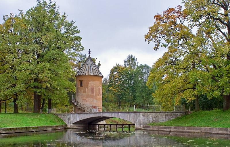 Павловский парк вид мост