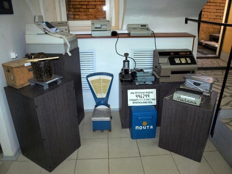 Почта-музей внутри