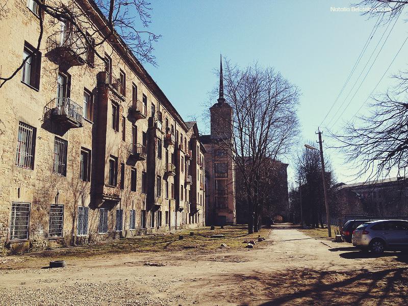 Район Парусинка улица