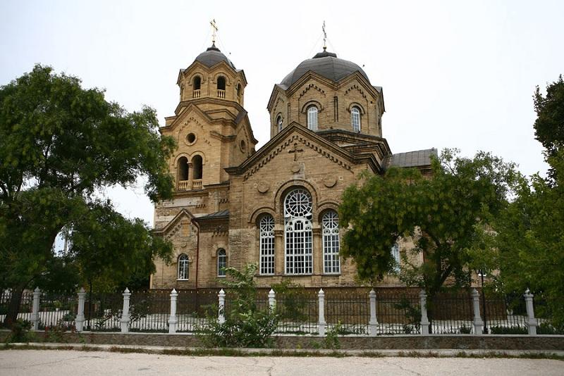 Свято–Ильинская церковь