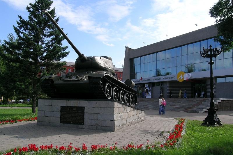 Памятник Т-34
