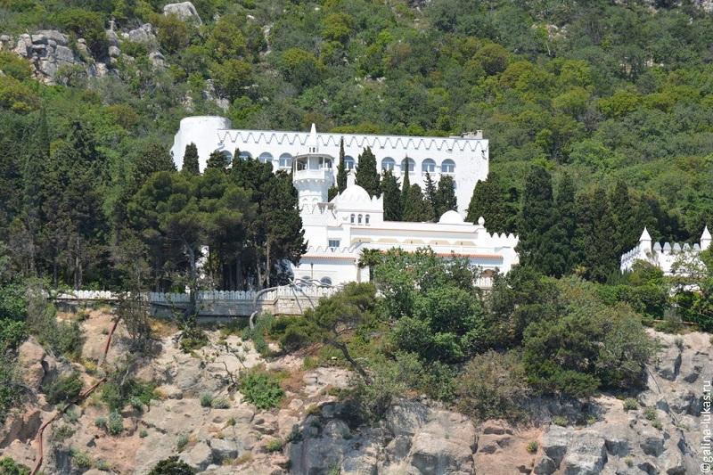 Дворец Кичкинэ вид