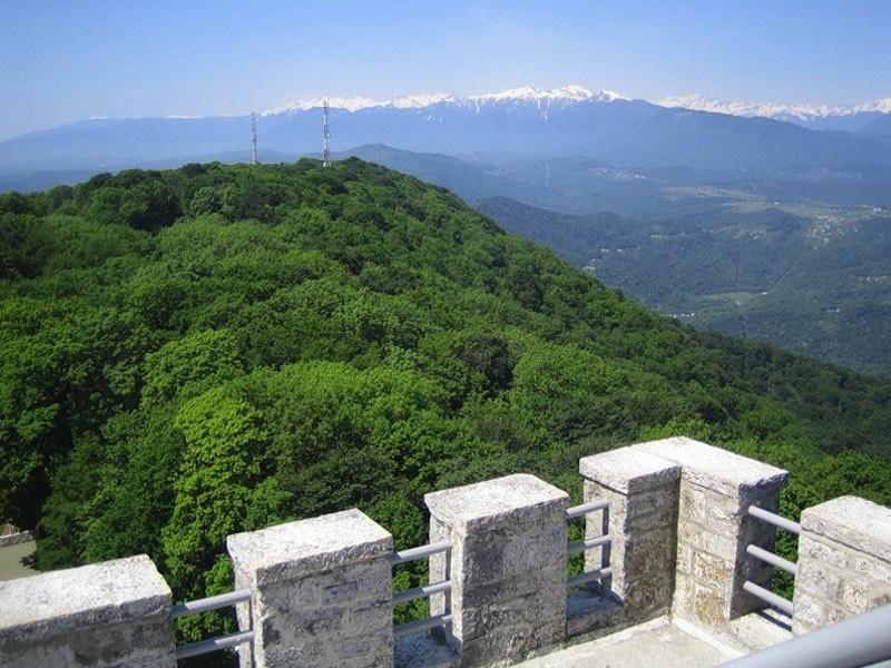 Гора Большой Ахун вид