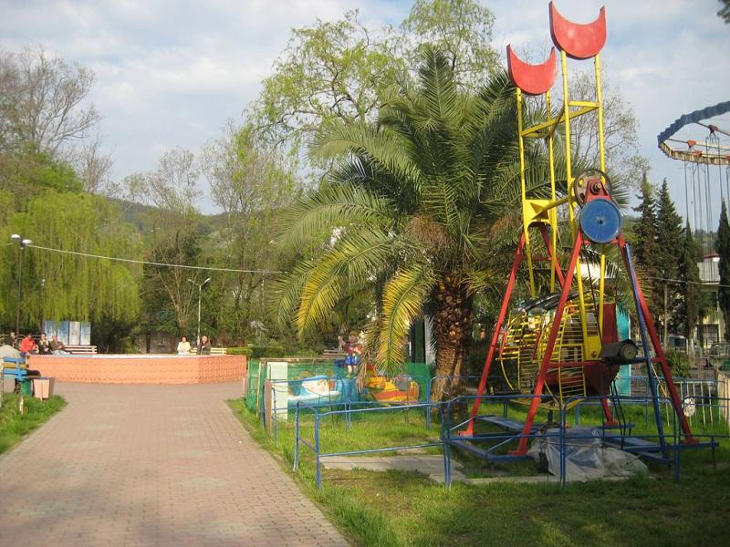 Хостинский парк вид