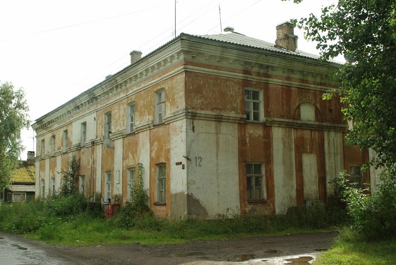 Казармы бывшего Суздальского полка