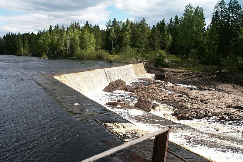Кондопожская ГЭС вид