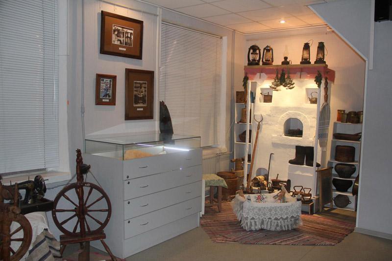 Музей истории города Шлиссельбурга внутри