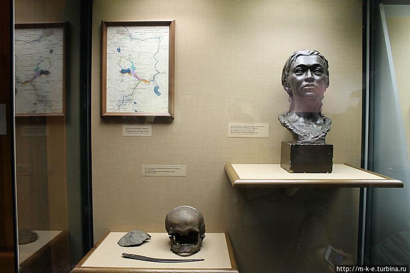 Музей истории и археологии Урала внутри