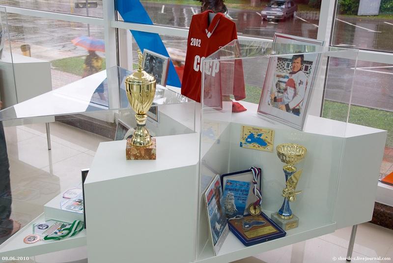 Музей спортивной славы внутри