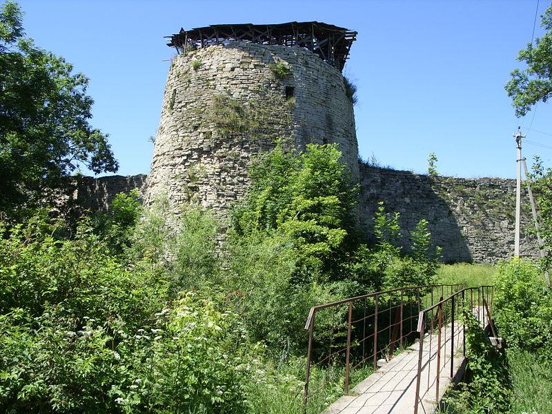 Порховская крепость башня