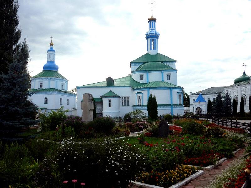 Раифский монастырь вид