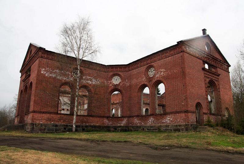 Руины лютеранской кирхи
