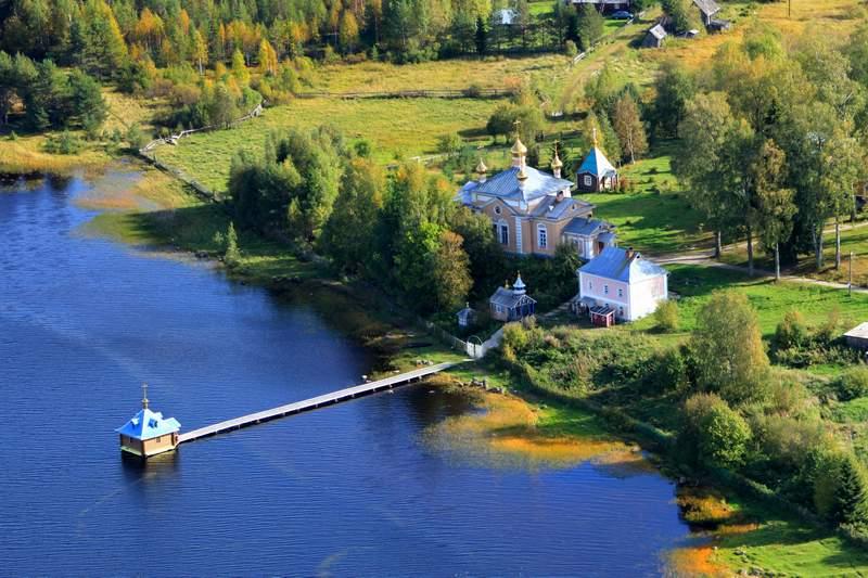 Важеозерский мужской монастырь