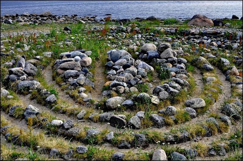 Большой Заяцкий остров лабиринт