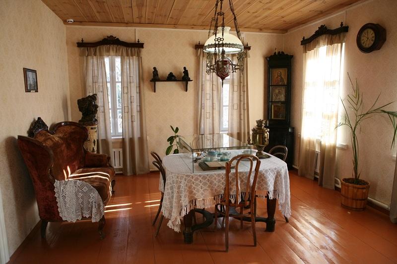 Дом-музей скульптора Голубкиной внутри