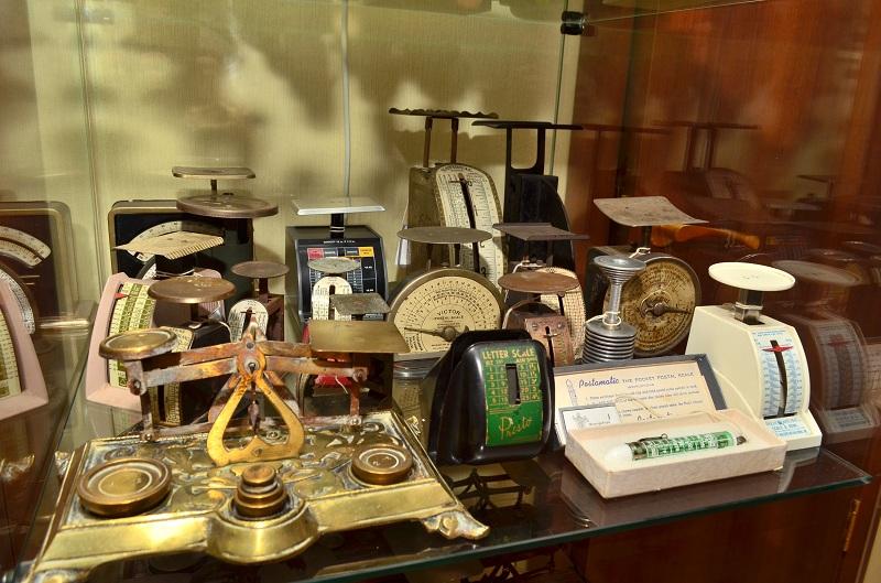 Экспозиция Музея мер и весов