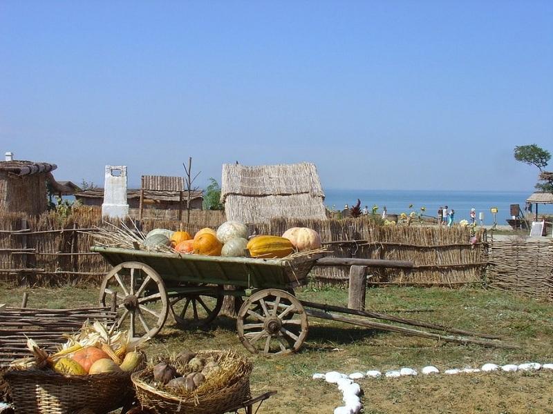 Этнографический комплекс Атамань вид