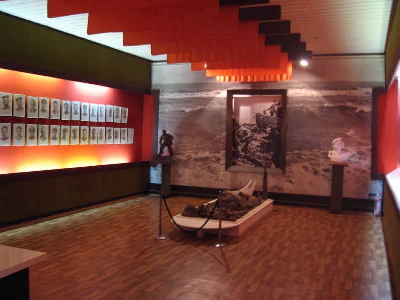 Музей истории Эльтигенского десанта внутри