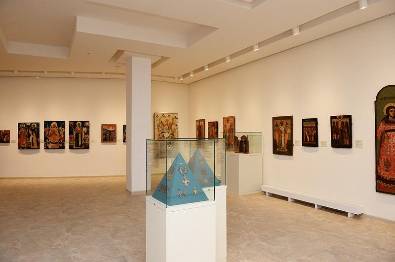 Музейно-выставочный комплекс Новый Иерусалим внутри