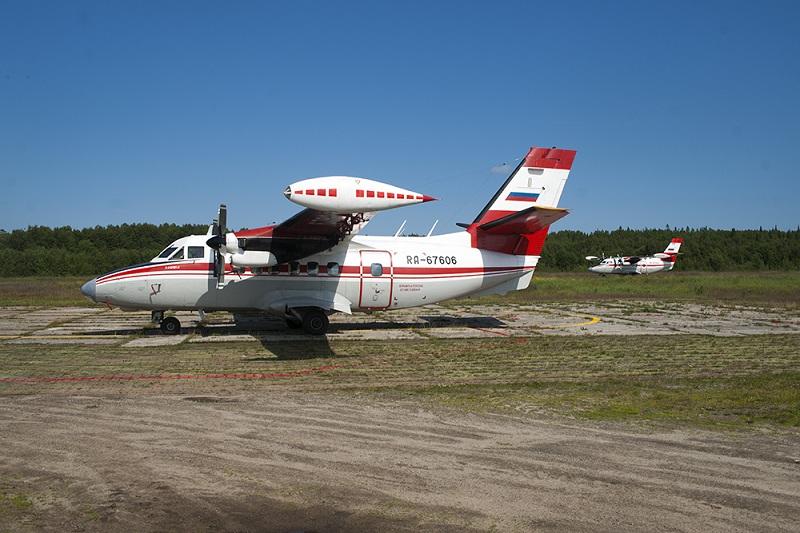 Соловки самолет