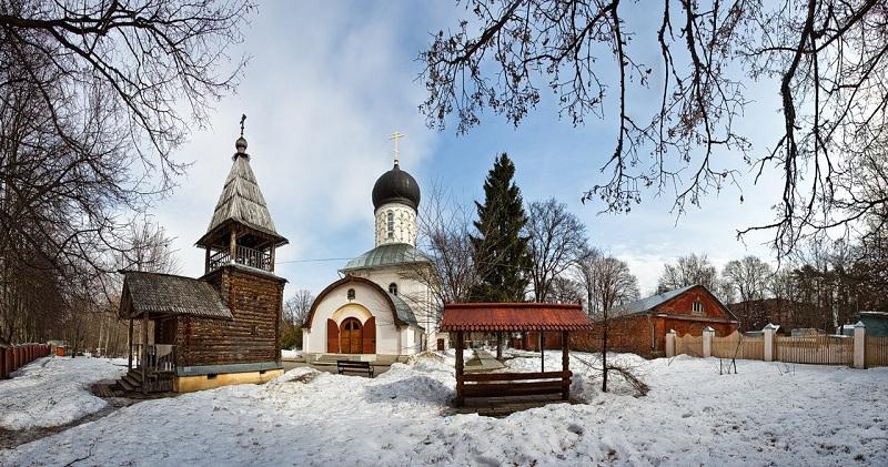 Усадьба Васильевское церковь