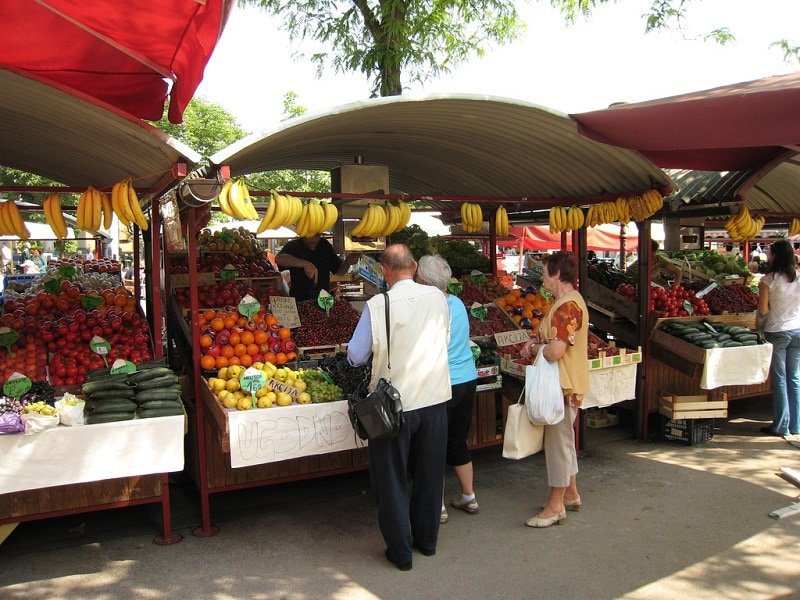 Городской рынок Ялта