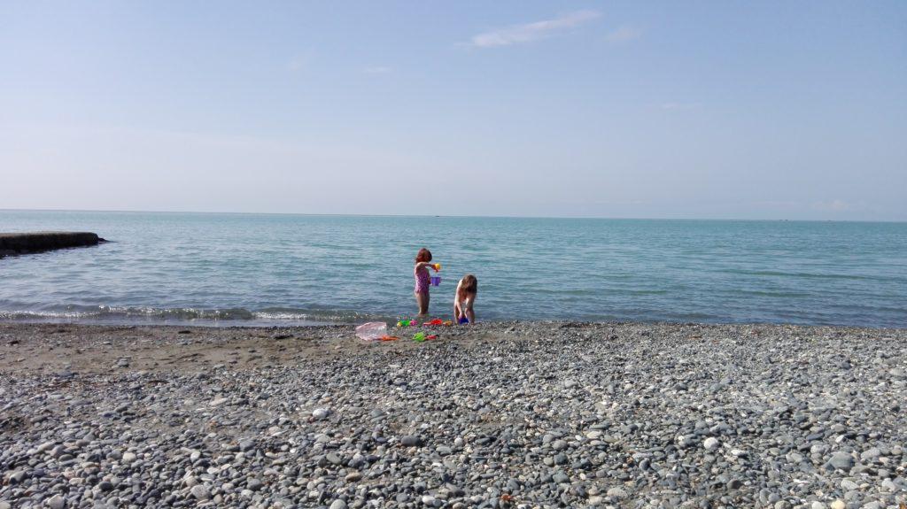 Пляж в Сухуме