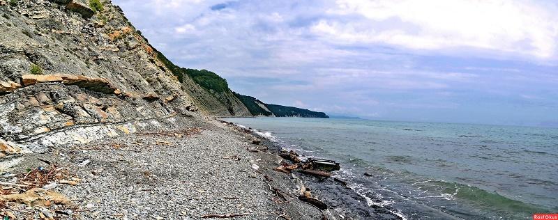 Архипо-Осиповка диикий пляж