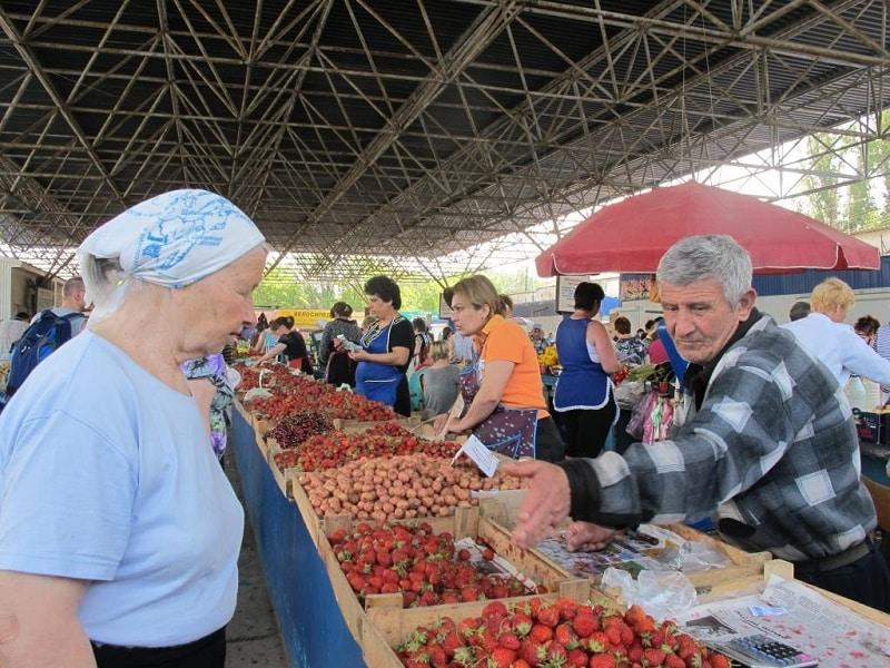 Феодосия рынок