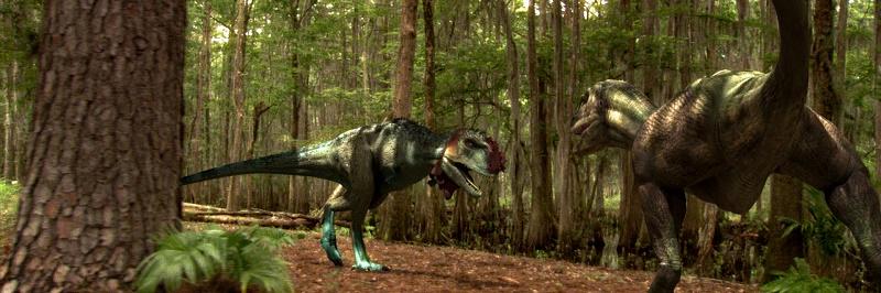 Выставка роботизированных динозавров