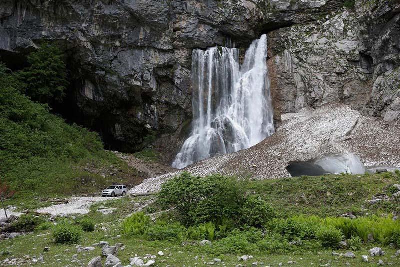 Гегский (Черкесский) водопад