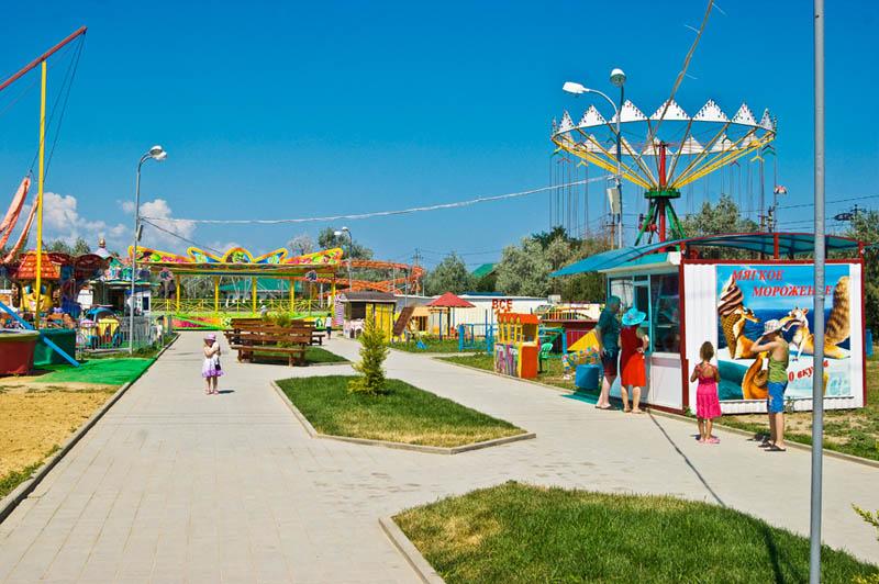 Голубицкая парк атракционов