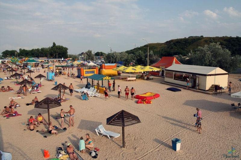 Голубицкая пляж