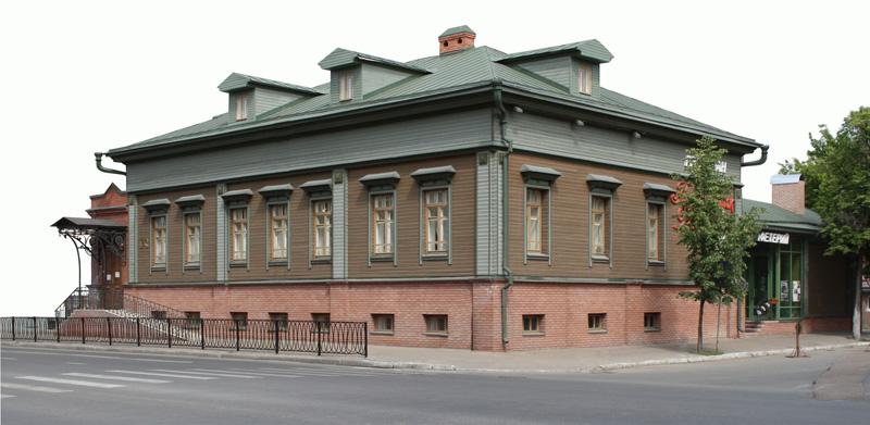 дом-музей Аксенова